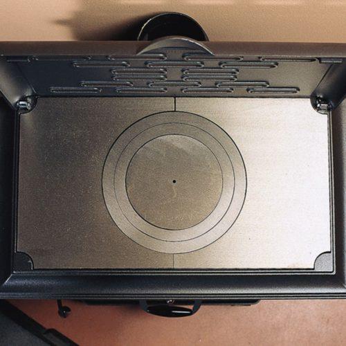 Kamna teplovzdušná Isotta cerchi Evo cerna2